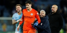 Voormalig NAC-keeper Muric steelt de show bij Manchester City