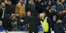 Emery biedt excuses aan nadat hij fans raakt met een flesje