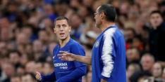 Sarri niet bezig met transfers, maar heeft zorgen over aanvalslinie