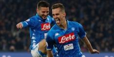 Napoli dankt Milik en Mertens bij moeizame zege op Bologna