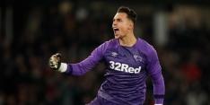 Derby County geeft blunderende Roos nieuw contract