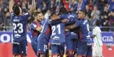 Huesca stunt en wint voor het eerst sinds eerste speeldag