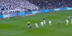 Video: Real al vroeg op achterstand na fantastische strafschop