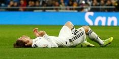 Ook Modric meldt zich in overvolle lappenmand Real