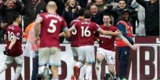 Arsenal verliest zicht op vierde plaats door uitglijder bij West Ham