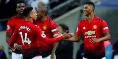Manchester United wint óók van Tottenham met dank aan De Gea