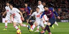 Barcelona simpel langs Eibar dankzij 400ste treffer Messi