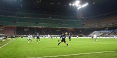 De Vrij speelt gelijk met Inter in bijna leeg Giuseppe Meazza