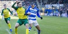 Burgzorg werd door trainer De Jong vergeleken met Luis Suárez