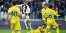 Juventus verslaat Chievo ondanks misser van Ronaldo