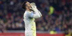 'Ajax markt op om nieuwe tweede keeper aan te trekken'