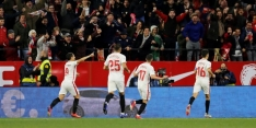 Tiental Sevilla vecht zich in extremis terug tegen Eibar