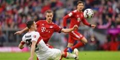 Bayern München schrikt even, maar rekent af met Stuttgart