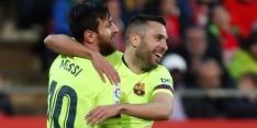 Messi draagt met prachtige stift bij aan simpele zege Barça