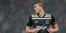 """De Ligt: """"Van Persie en Jørgensen technisch goede spitsen"""""""