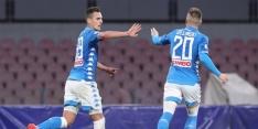 Napoli wint ruim en houdt Quagliarella van record af