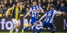 Heerenveen-'verdediger' Hornkamp tevreden na debuut als back