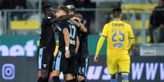 Lazio na nipte overwinning op gelijke hoogte met stadgenoot