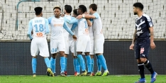Strootman-loos Olympique Marseille wint in troosteloze ambiance