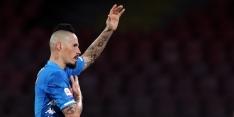 Napoli-clubicoon Hamsik verrast met overstap naar Zweden