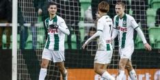 El Hankouri kan geluk niet op na eerste doelpunt voor Groningen