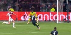 Video: Ajax op achterstand door dodelijke pegel Benzema