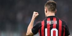 Doelpuntenmachine Piatek wederom belangrijk voor AC Milan
