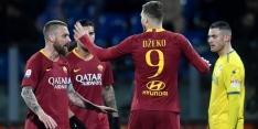 AS Roma houdt druk op Milan door late treffer van Dzeko