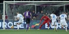 Internazionale ziedend na onterechte strafschop in 100ste minuut