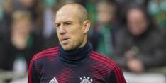 Robben na maandenlange absentie weer bij wedstrijdselectie