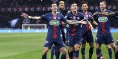 PSG verslikt zich zonder sterren niet in de Coupe de France