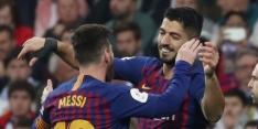 """Suárez: """"Ik zou Messi adviseren niet weg te gaan"""""""