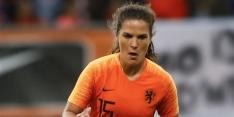 Worm voegt zich bij Oranje Leeuwinnen door blessure Pelova