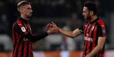 AC Milan stoomt door en verdringt Inter van plek drie