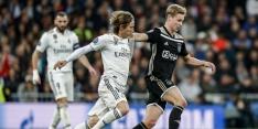 De Jong blijft ondanks alle lovende kritieken realistisch bij Ajax