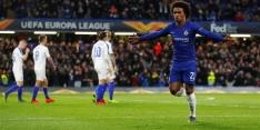 Chelsea eenvoudig langs Kiev, ook winst voor Valencia