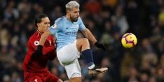 Agüero troeft Van Dijk af in Speler van de Maand-verkiezing