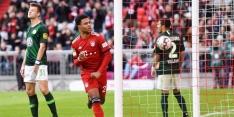 Bayern geeft show weg en is koploper, ook winst Dortmund