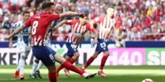 Atlético boekt zuinige zege en lijkt klaar voor Juventus