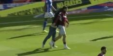 Video: Aston Villa-aanvoerder neergeslagen door veldbestormer