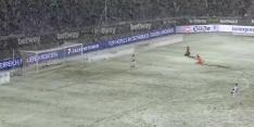 Video: sneeuw voorkomt tegentreffer Bayer Leverkusen van Bosz