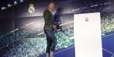 Bescheiden Zidane bedolven onder lofuitingen van selectie Real
