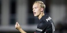 FC Utrecht langer door met jonge verdediger Van der Velden