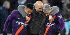 Guardiola zegt 'sorry' na winst en arbitrale dwalingen