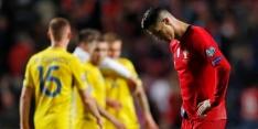 Portugal valt tegen bij rentree Cristiano Ronaldo