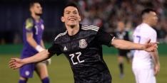 Lozano scoort bij debuut Martino als bondscoach van Mexico