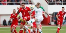 Zwitsers starten goed, moeizaam Ierland in Gibraltar
