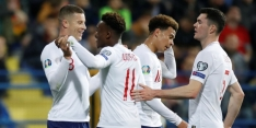 Engeland maakt er weer vijf, Zeneli goud waard