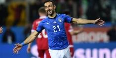 Groep J: Italië droogt Liechtenstein af en ziet Quagliarella scoren