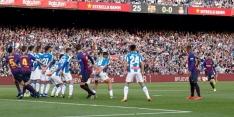 Panenka-vrije trap van Messi helpt Barça aan derbywinst